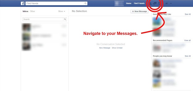 How To Delete All Facebook Messages In A Click?