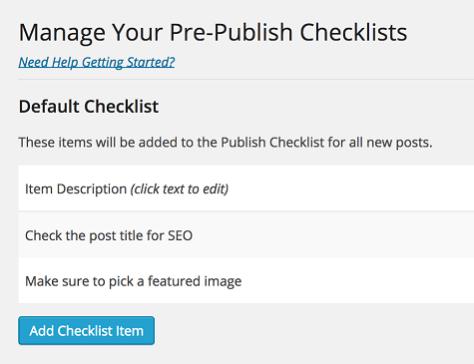Pre-Publish Post Checklist 1