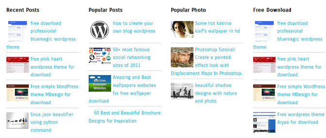 Smart WordPress Posts Widget To Show Any Post Type In Various Filters And Styles