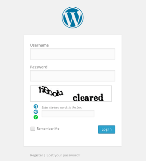Better WordPress reCAPTCHA 2