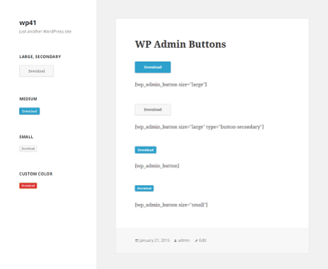WP Admin Buttons 1