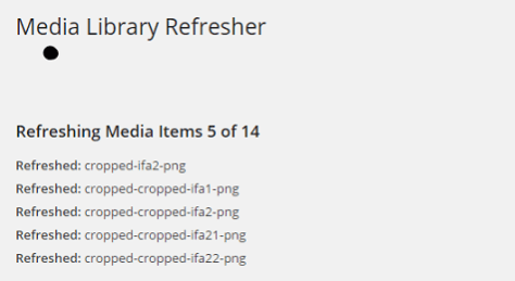 Media Library Refresher 3