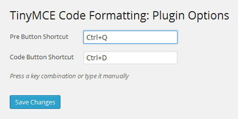 TinyMCE Code Formatting 2