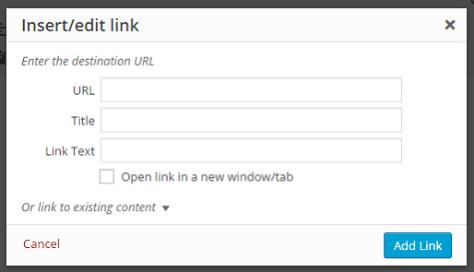 Link Title Field Restore