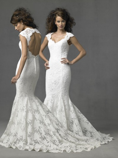 mermaid wedding dresses 2010