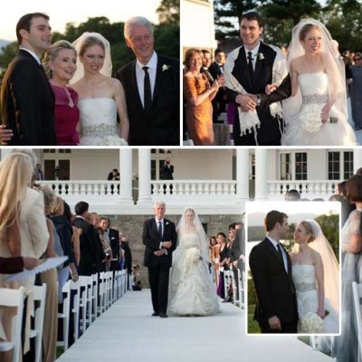 Chelsea Clinton wedding day