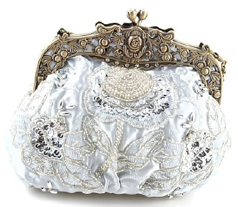 unique clutch wedding handbag