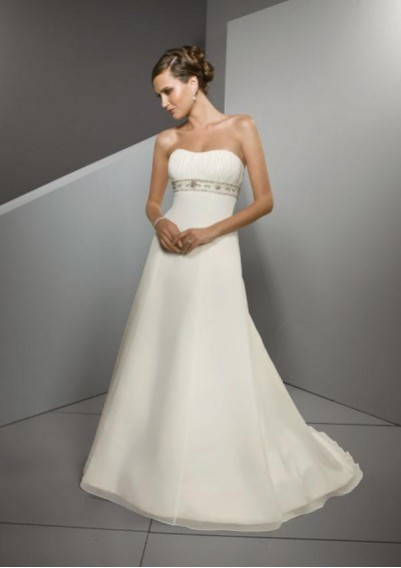organza summer wedding dresses