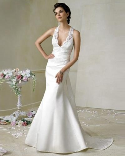 silk summer wedding dresses