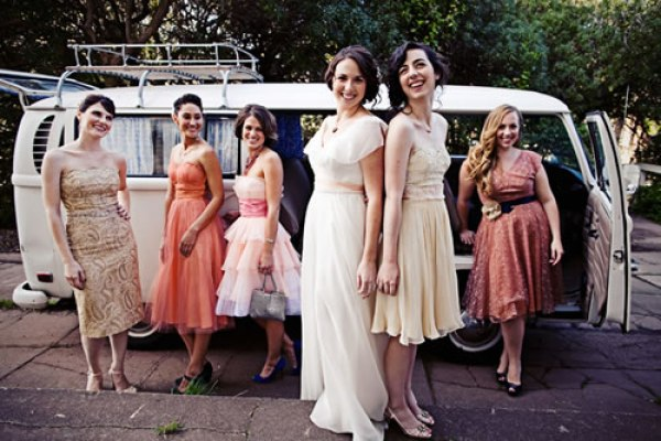 vintage bridesmaid dress style