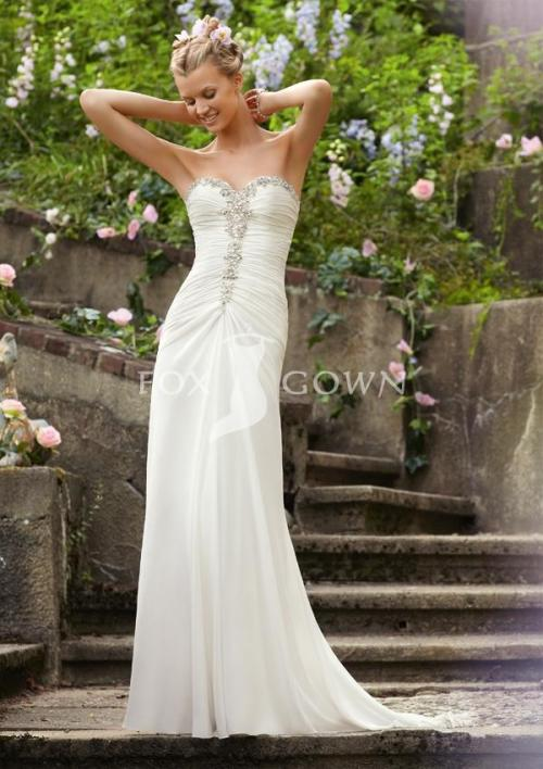 luxury spring wedding dress