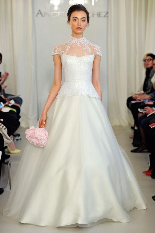 spring wedding dresses 2014 by Angel Sanchez
