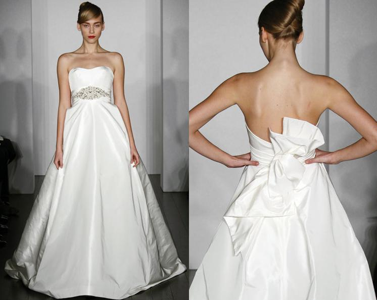 Wedding Dresses With A Bow For Cute Bridal Appearance