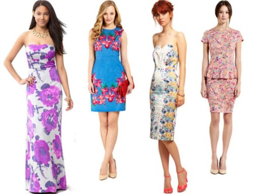 casual colorful summer wedding guest dresses