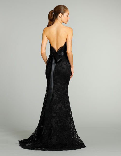 black lace mermaid wedding dress with open back available at ebay