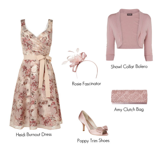wedding guest outfits with bolero