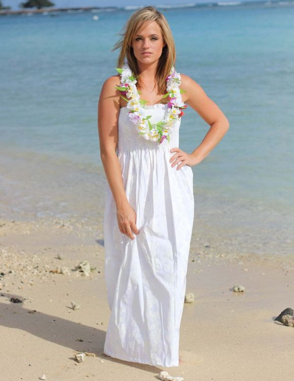 Hawaiian Wedding Dresses