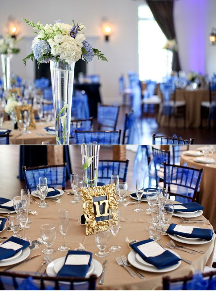 Beautiful Navy Blue Wedding Decorations to Inspire You ...