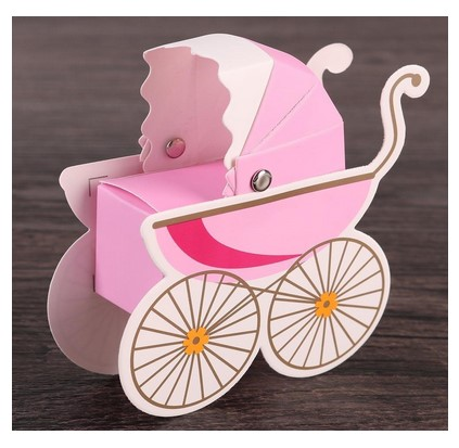 paper carriage unique cheap wedding favor