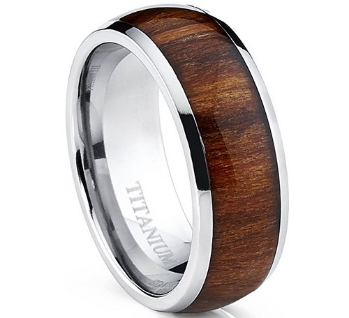 wood wedding bands for mens