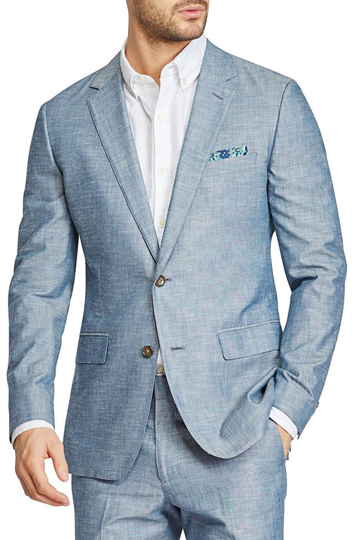 men beach wedding blazer