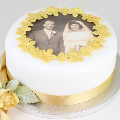 wedding anniversary cake design