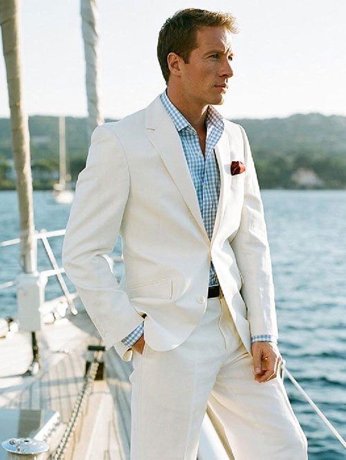 what to wear to a beach wedding mens