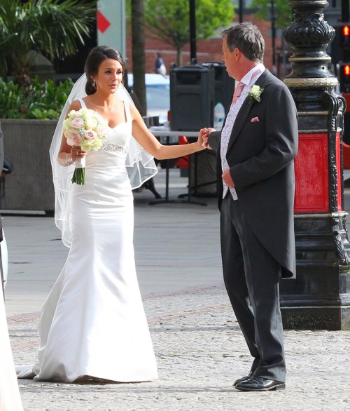 michelle keegan wedding dress