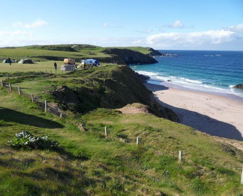 Beaches, Surf and Perfect Scenic Pitches
