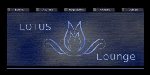 An early prototype design for Houston's Lotus Lounge