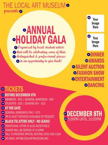 Flyer Annual Holiday Gala