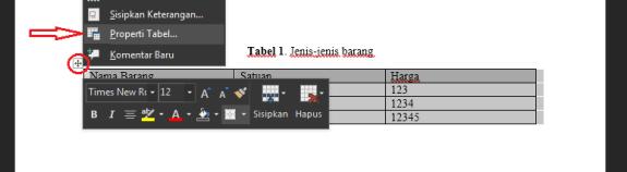 Header Tabel Harus Ada Pada Tiap Halaman, Ini cara membuatnya pada Microsoft Word dan Solusi bagi yang gagal |