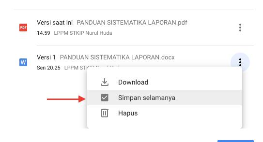 Google Drive: Mengganti File Publik Tanpa Mengubah Link |