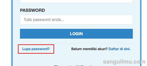 Solusi Lupa Password Akun SISTER Dosen |