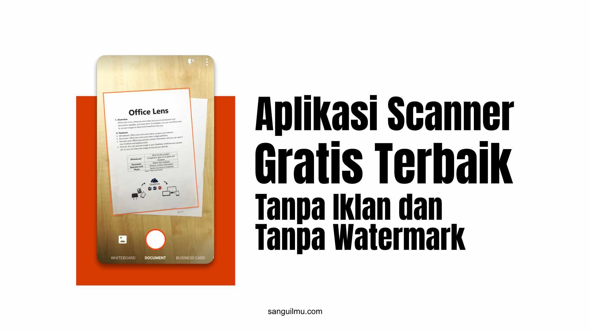 Aplikasi Scanner Gratis Terbaik Tanpa Iklan dan Tanpa Watermark |