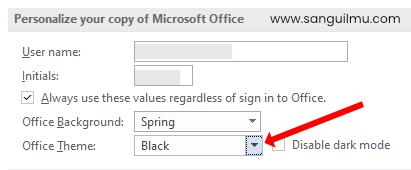 Cara Mengganti Tema Gelap di Microsoft Office