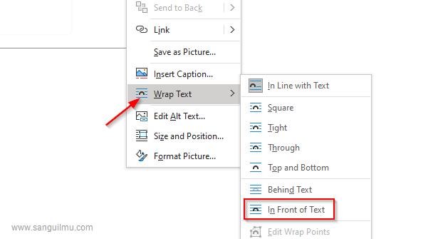 3 Cara Mengatasi Gambar Tidak Bisa Dipindah di Word |