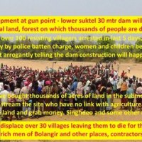 #India - Report on Lower Suktel Project and People's Protest