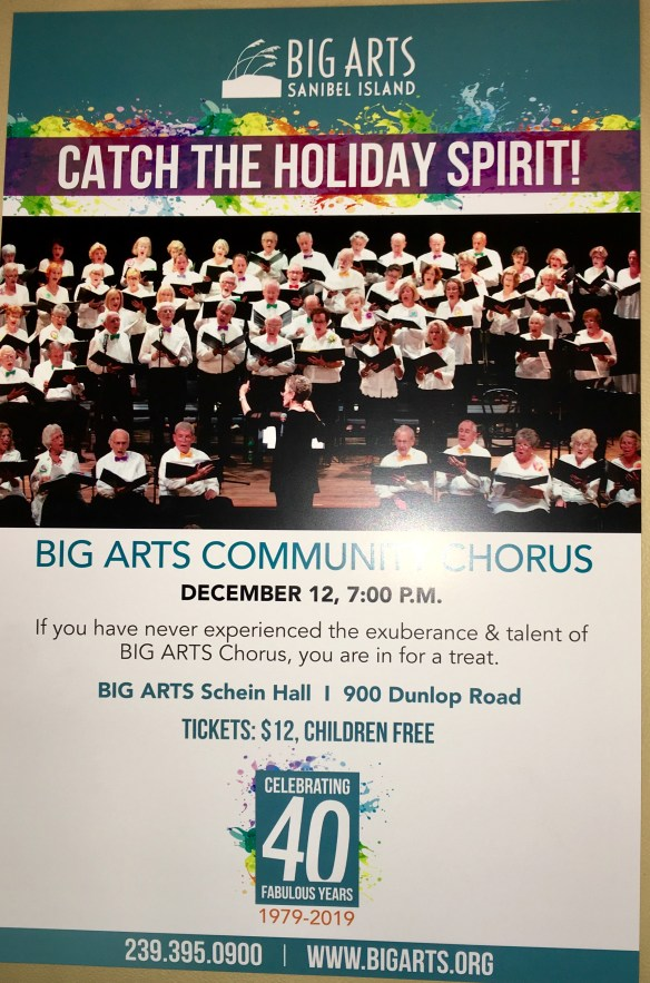 2018 Holiday Chorus Poster