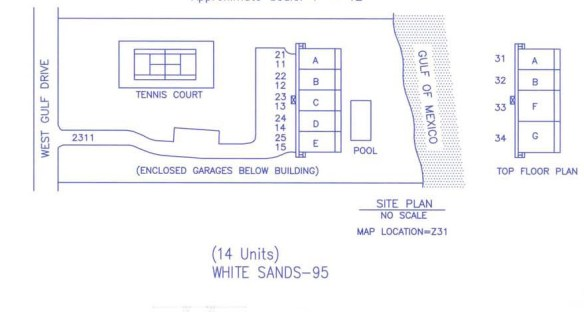 White Sands Site Plan