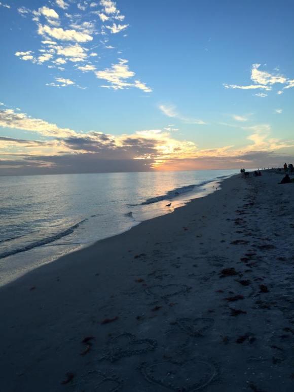 Feb sunset