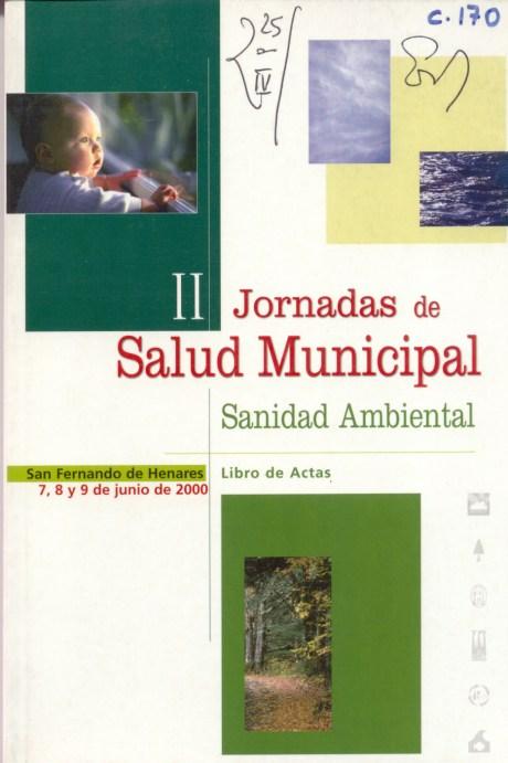 II Jornadas de Salud Municipal Sanidad Ambiental