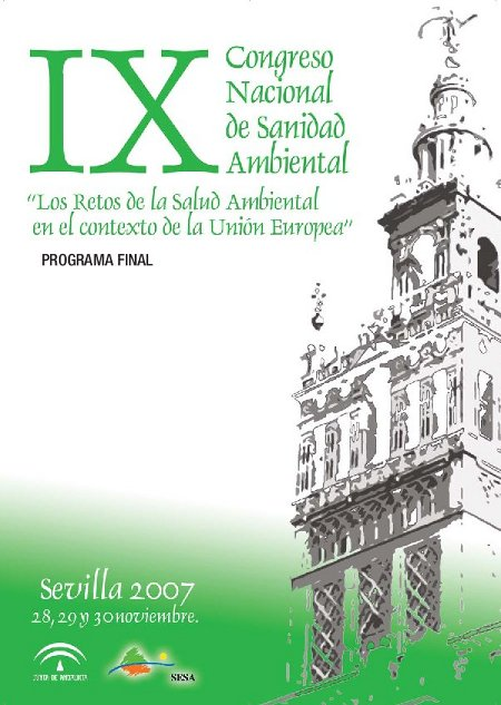 IX Congreso Nacional de Sanidad Ambiental