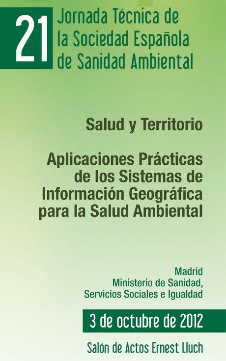 21 Jornada Técnica de la Sociedad Española de Sanidad Ambiental