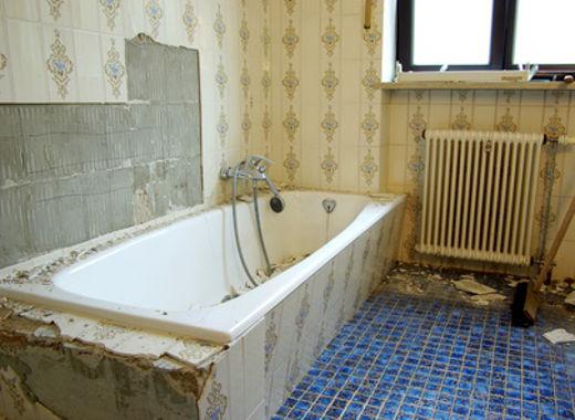Neues Bad im alten Haus