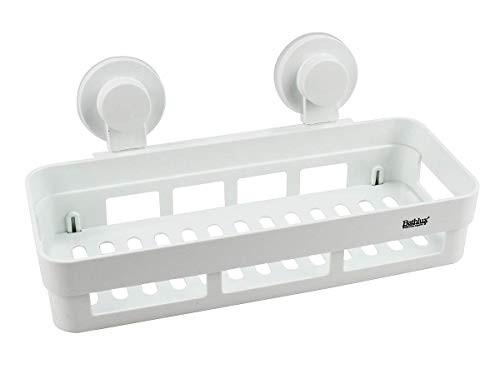 panier pour salle de bain avec 2 ventouses 302x138x127mm bathlux