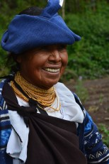 Participante de huertos familiares,Cotacachi