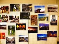 タパタパカフェに掲示されたアイルランドの風景写真
