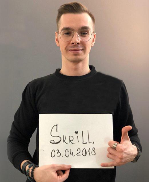Hướng dẫn chụp hình để xác minh ví Skrill