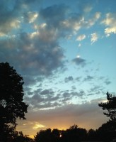 Sunset july4